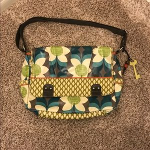 Fossil Key-Per Messenger Bag